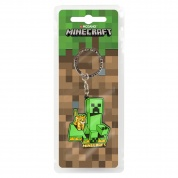 Minecraft Craftable Creeper Chase Keychain