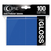 UP - Standard Sleeves - Gloss Eclipse - Pacific Blue (100 Sleeves)