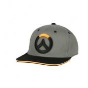 Overwatch Blocked Stretch Fit Hat - Black
