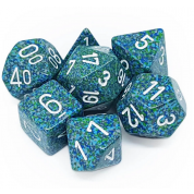 Chessex Speckled Polyhedral 7-Die Set - Sea