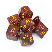 Chessex Speckled Polyhedral 7-Die Set - Mercury