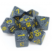 Chessex Speckled Polyhedral 7-Die Set - Urban Camo