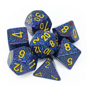 Chessex Speckled Polyhedral 7-Die Set - Twilight