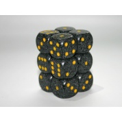 Chessex Speckled 16mm d6 with pips Dice Blocks (12 Dice) - Urban Camo