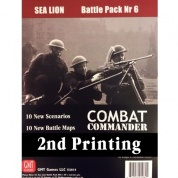 Combat Commander BP #6: Sea Lion, 2nd Printing - EN