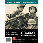 Combat Commander BP #5: Fall of the West, 2nd Printing - EN