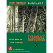 Combat Commander BP #4: New Guinea, 2nd Printing - EN