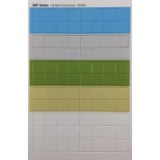 Half Sheet Blank multi-color 5/8 inch counters