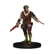 D&D Icons of the Realms: Premium Painted Figure - Human Rogue Male (6 Units)