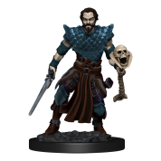 D&D Icons of the Realms: Premium Painted Figure - Human Warlock Male (6 Units)