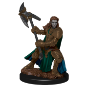 D&D Icons of the Realms: Premium Painted Figure - Half-Orc Fighter Female (6 Units)