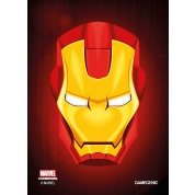 Gamegenic - Marvel Champions Art Sleeves - Iron Man (50+1 Sleeves)