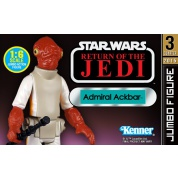 Star Wars - Admiral Akbar Jumbo Kenner inspired action figure 32cm limited edition