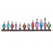 Ziterdes - Glass bottle set, 24 pieces