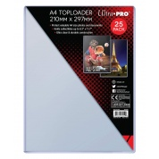 A4 Toploader 25ct (210mm x 297mm)