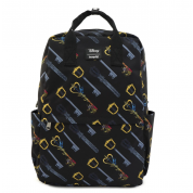 Kingdom Hearts Keys AOP Square Nylon Backpack