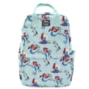 Ariel Scenes AOP Nylon Square Backpack