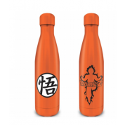 Pyramid Metal Drinks Bottles - Dragon Ball Z (Goku Kanji)