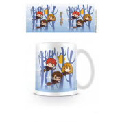 Pyramid Everyday Mugs - Harry Potter (Harry Ron Hermione Flying Chibi)