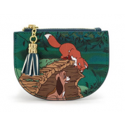 Fox and the Hound Peek A Boo Log Card Holder