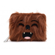 LF STAR WARS FAUX FUR CHEWBACCA ZIP AROUND WALLET