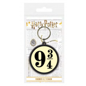 Pyramid Rubber Keychains - Harry Potter (Platform 9 & ¾)