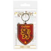 Pyramid Rubber Keychains - Harry Potter (Gryffindor)