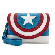POP BY LOUNGEFLY MARVEL CAPTAIN AMERICA CROSSBODY