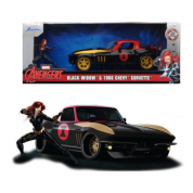 Marvel Black Widow 1966 Chevy 1:24