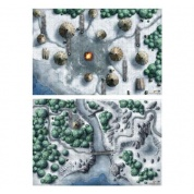 "D&D Icewind Dale: Map Set (2x 20""x30"")"