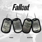 Fallout Metal Dog Tags