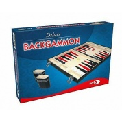 "Deluxe Backgammon Koffer - 15"" - DE"