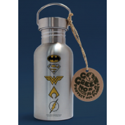 GBeye Aluminium Drink Bottle - DC Comics - Logo
