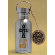 GBeye Aluminium Drink Bottle - Guns N Roses - Logo