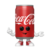 Funko POP! POP Funko: Coke- Coca-Cola Can Vinyl Figure 10cm