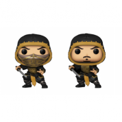 Funko POP! Mortal Kombat - Scorpion w/Chase Vinyl Figure 10cm Assortment (5+1 chase figure)