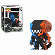 Funko POP! 8-Bit POP: Horror - Alien 2-Tone Orange/Blue Vinyl Figure 10cm