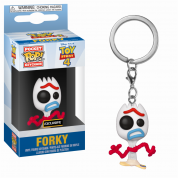 Funko POP Keychain: Toy Story 4 - Forky (new expression) Vinyl Figure