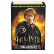 Dragon Shield Matte Art Sleeves - WizardingWorld - Ron Weasley (100 Sleeves)