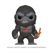 Funko POP! Godzilla Vs Kong - Battle-Scarred Kong Vinyl Figure 10cm