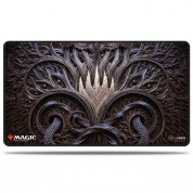 UP - Magic: The Gathering Kaldheim Stitched Playmat featuring Stylized Planeswalker Symbol