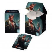 UP - Magic: The Gathering Kaldheim PRO 100+ Deck Box featuring Planeswalker Art 1
