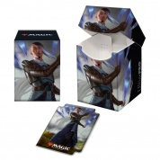 UP - Magic: The Gathering Kaldheim PRO 100+ Deck Box featuring Planeswalker Art 3