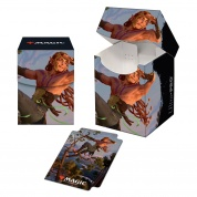 UP - Magic: The Gathering Kaldheim PRO 100+ Deck Box featuring Planeswalker Art 2