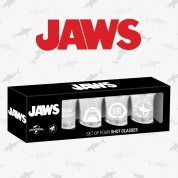 Jaws set of shot glasses
