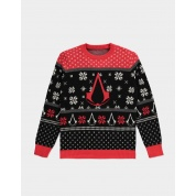 Assassin's Creed - Knitted Christmas Jumper - L