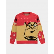 Universal - Shrek Knitted Christmas Jumper - L