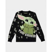 The Mandalorian - Baby Yoda Knitted Christmas Jumper - S