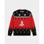 Sony - PlayStation - Knitted Christmas Jumper - S