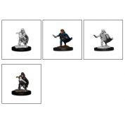 D&D Nolzur's Marvelous Miniatures - Halfling Rogue Male (6 Units)